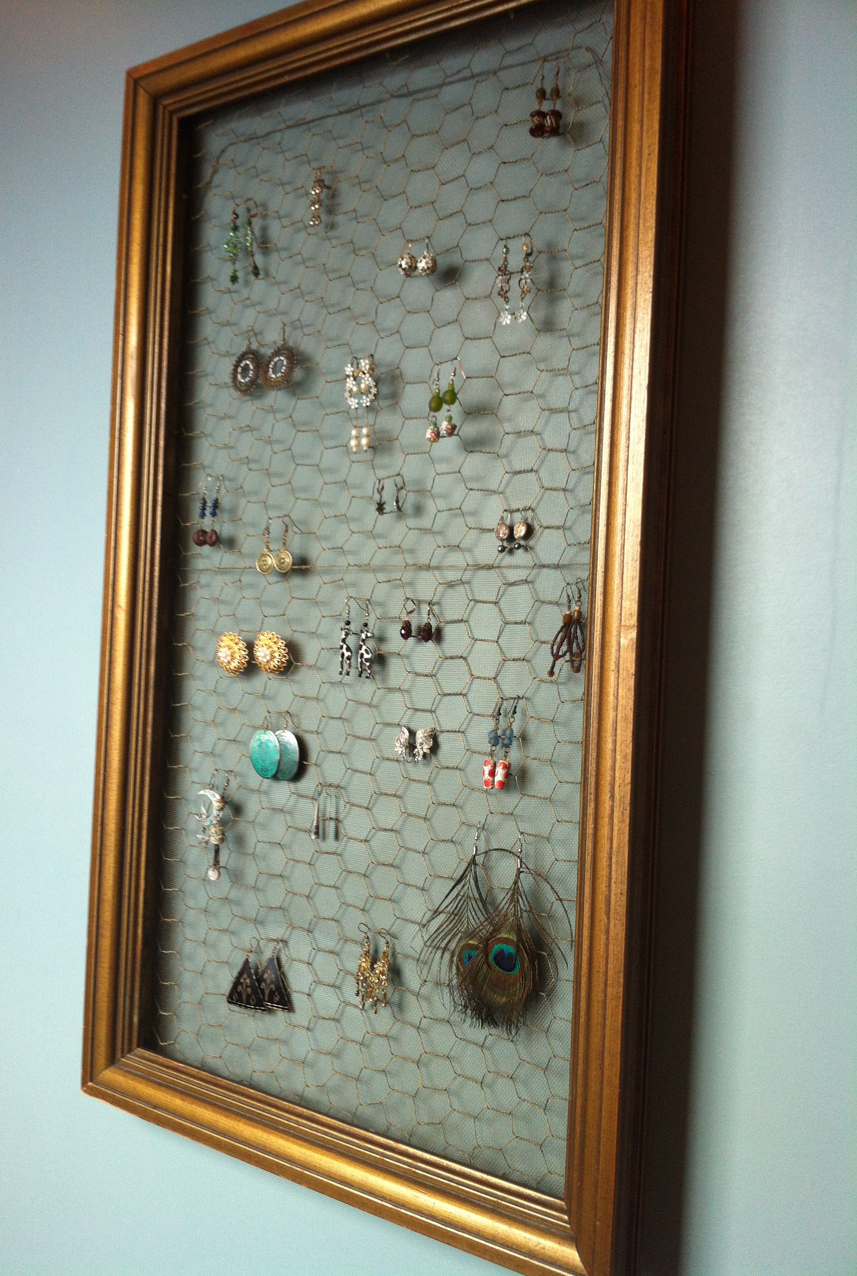 Best ideas about DIY Earring Display . Save or Pin DIY Earring Display Now.