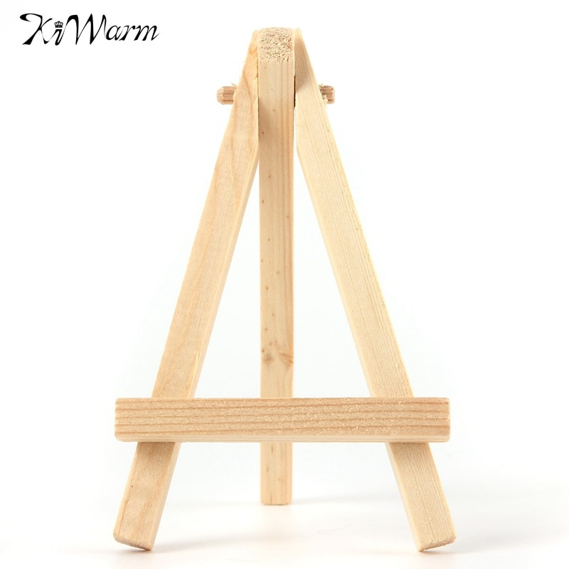 Best ideas about DIY Easel Stand . Save or Pin KiWarm 5PCS Mini Wood Artist Easel Wedding Number Place Now.