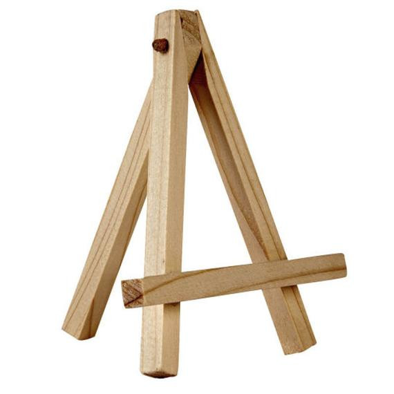 Best ideas about DIY Easel Stand . Save or Pin Mini Easel in Natural Wood Now.