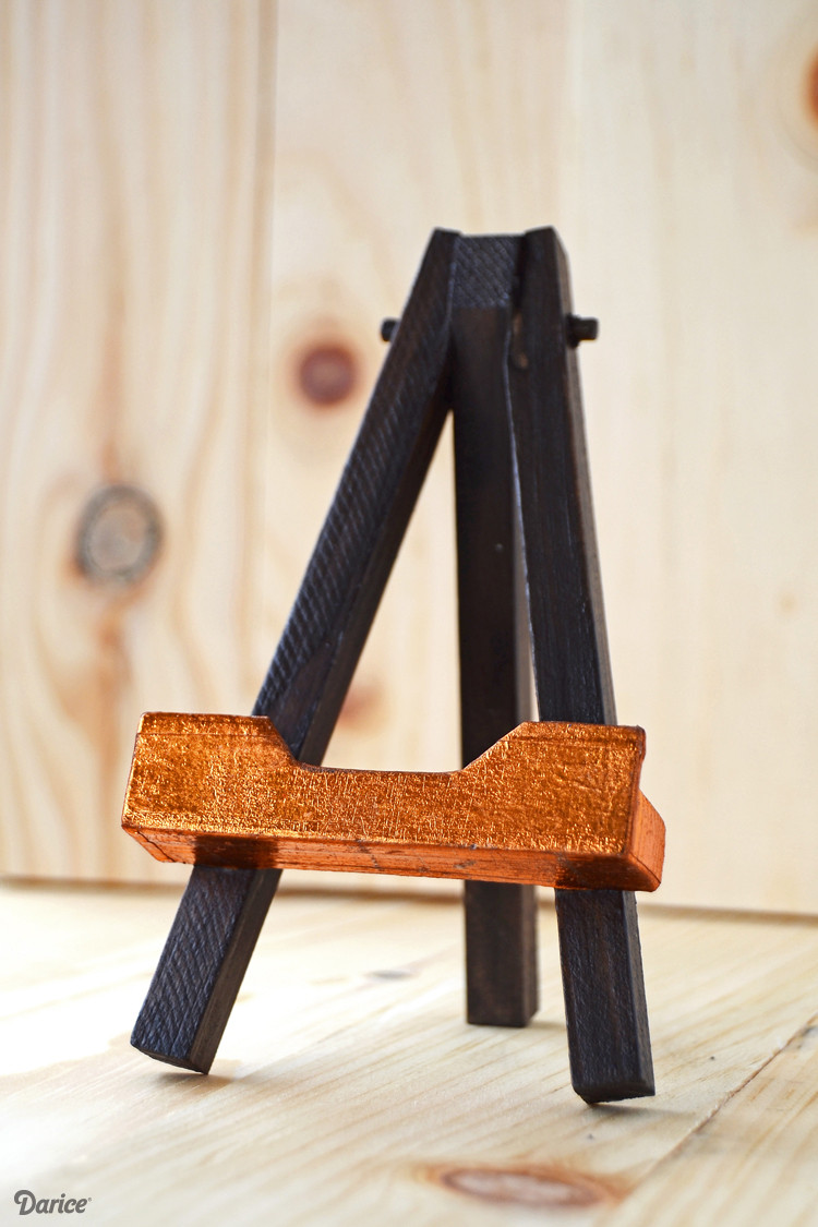 Best ideas about DIY Easel Stand . Save or Pin DIY Phone Stand Custom Easel Tutorial Darice Now.
