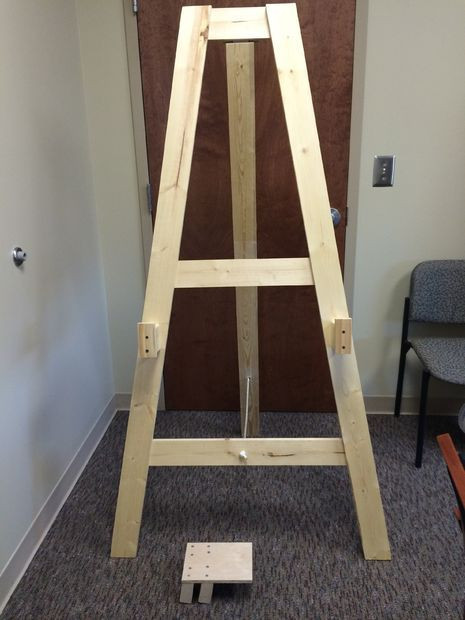 Best ideas about DIY Easel Stand . Save or Pin Easel Tv Stand Plans WoodWorking Projects & Plans Now.