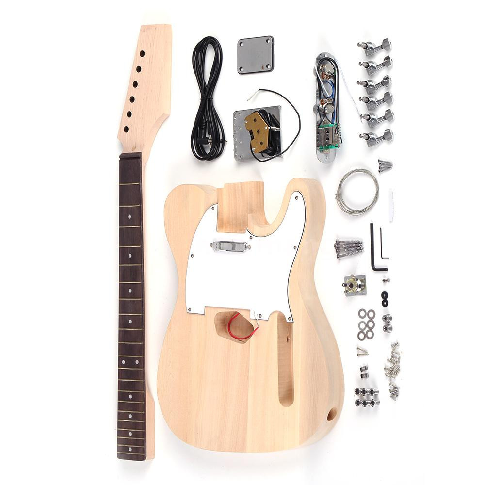 Best ideas about DIY Electric Guitar . Save or Pin Professional Tele Style Unfinished DIY Electric Guitar Kit Now.