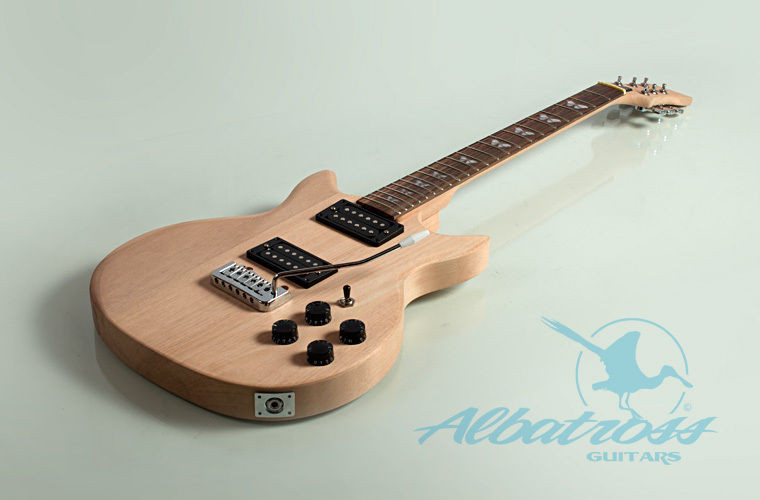 Best ideas about DIY Electric Guitar . Save or Pin DIY Mahogany Bolt Electric Guitar Kit Project Albatross Now.