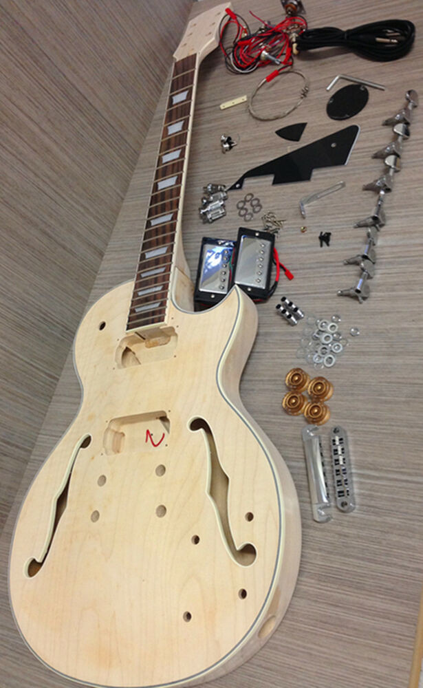 Best ideas about DIY Electric Guitar . Save or Pin No Solder E 239DIY Les Paul Semi hollow Electric Guitar Now.