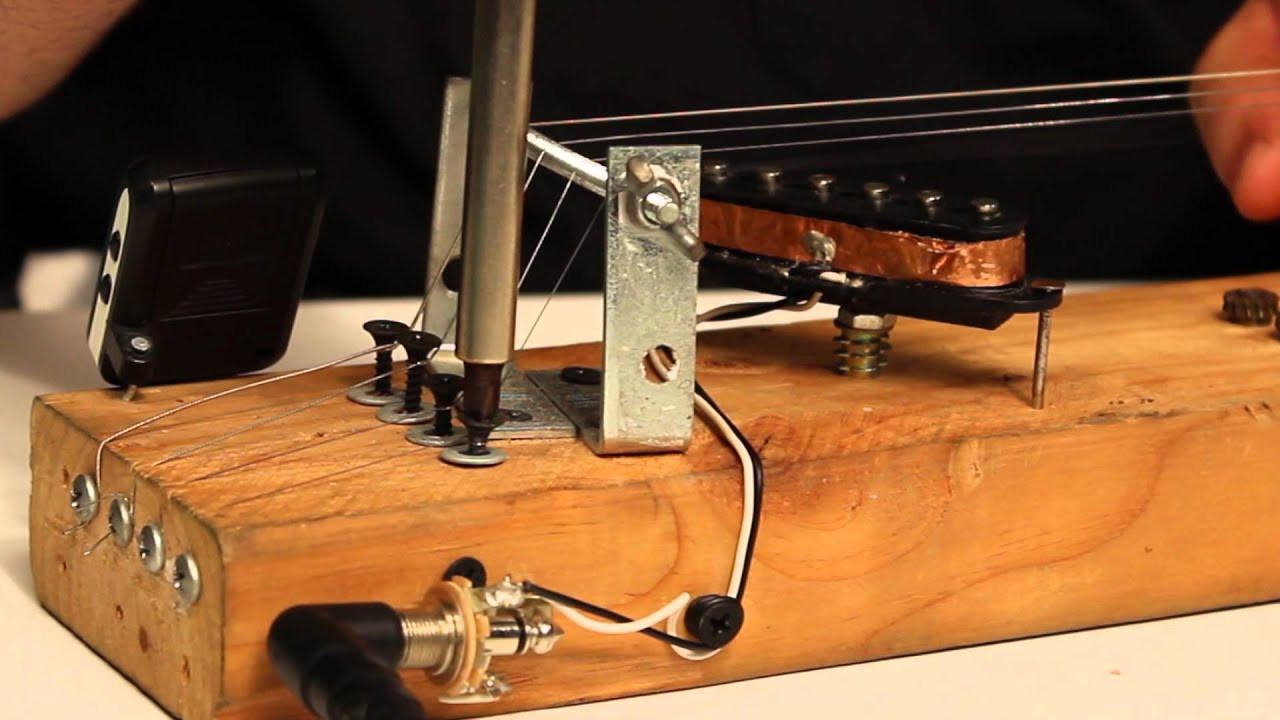 Best ideas about DIY Electric Guitar . Save or Pin DIY Electric Slide Guitar Now.