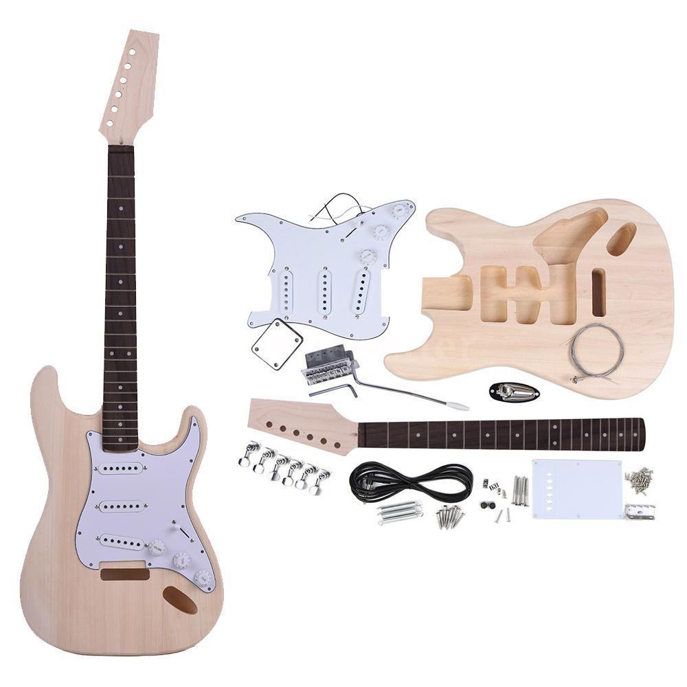 Best ideas about DIY Electric Guitar . Save or Pin PROJECT ELECTRIC GUITAR BUILDER KIT DIY WITH ALL Now.