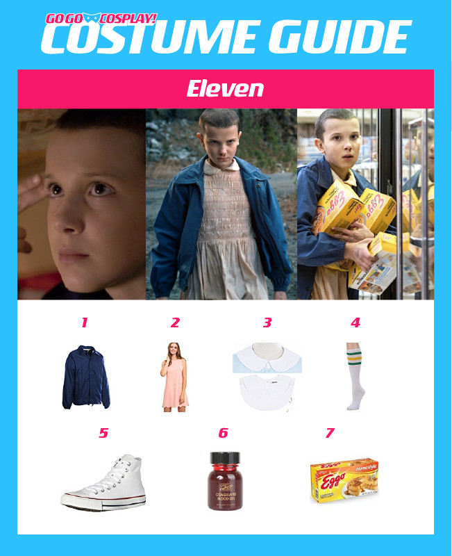 Best ideas about DIY Eleven Costume . Save or Pin Eleven Costume from Stranger Things DIY Guide for Now.