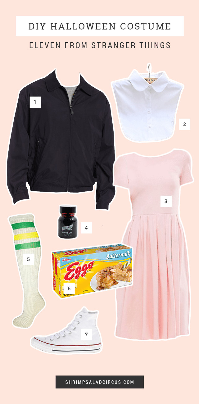 Best ideas about DIY Eleven Costume . Save or Pin Stranger Things Halloween Costume Ideas Shrimp Salad Circus Now.