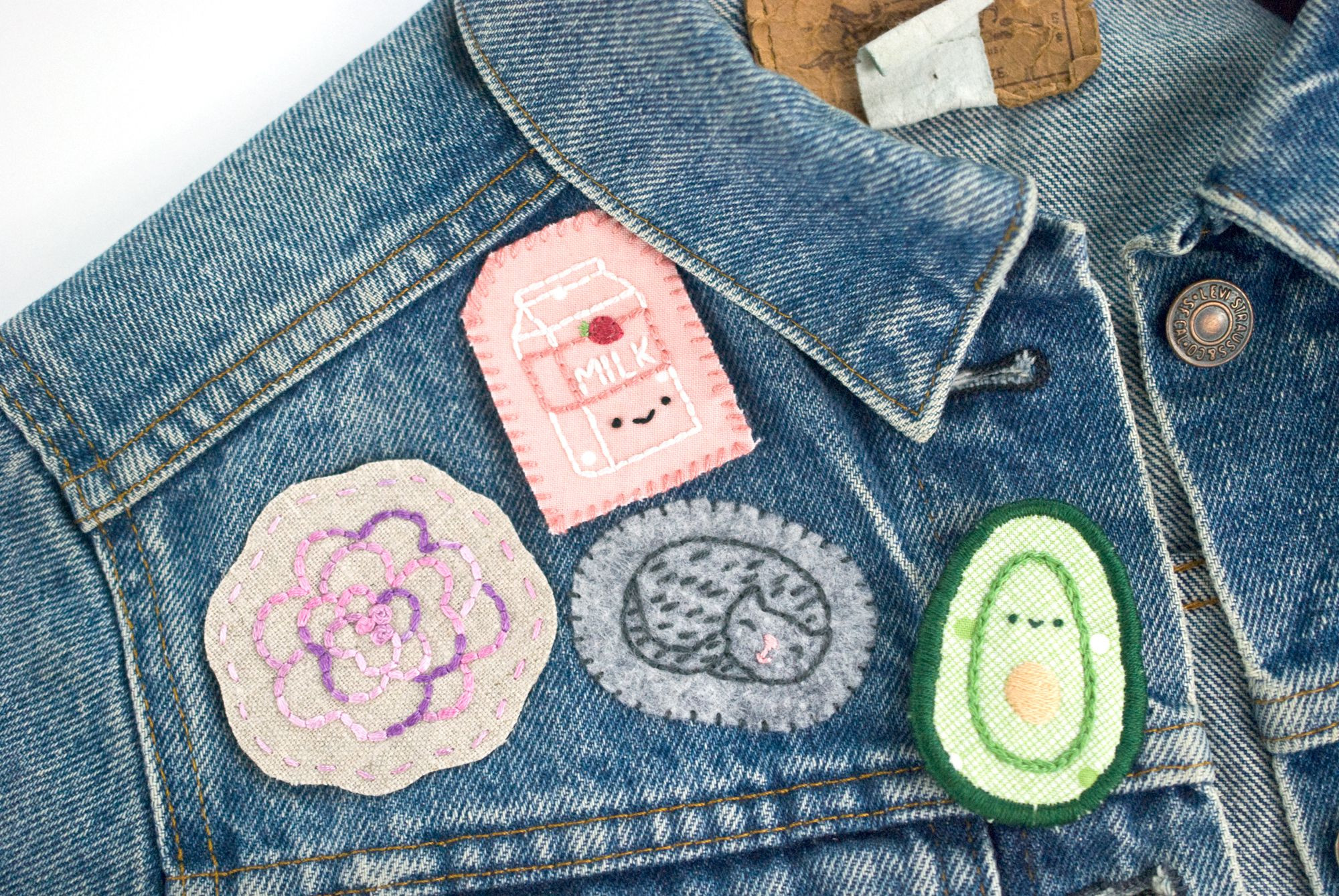Best ideas about DIY Embroidered Patches . Save or Pin 4 Ways to Make Your Own Hand Embroidered Felt Patches Now.