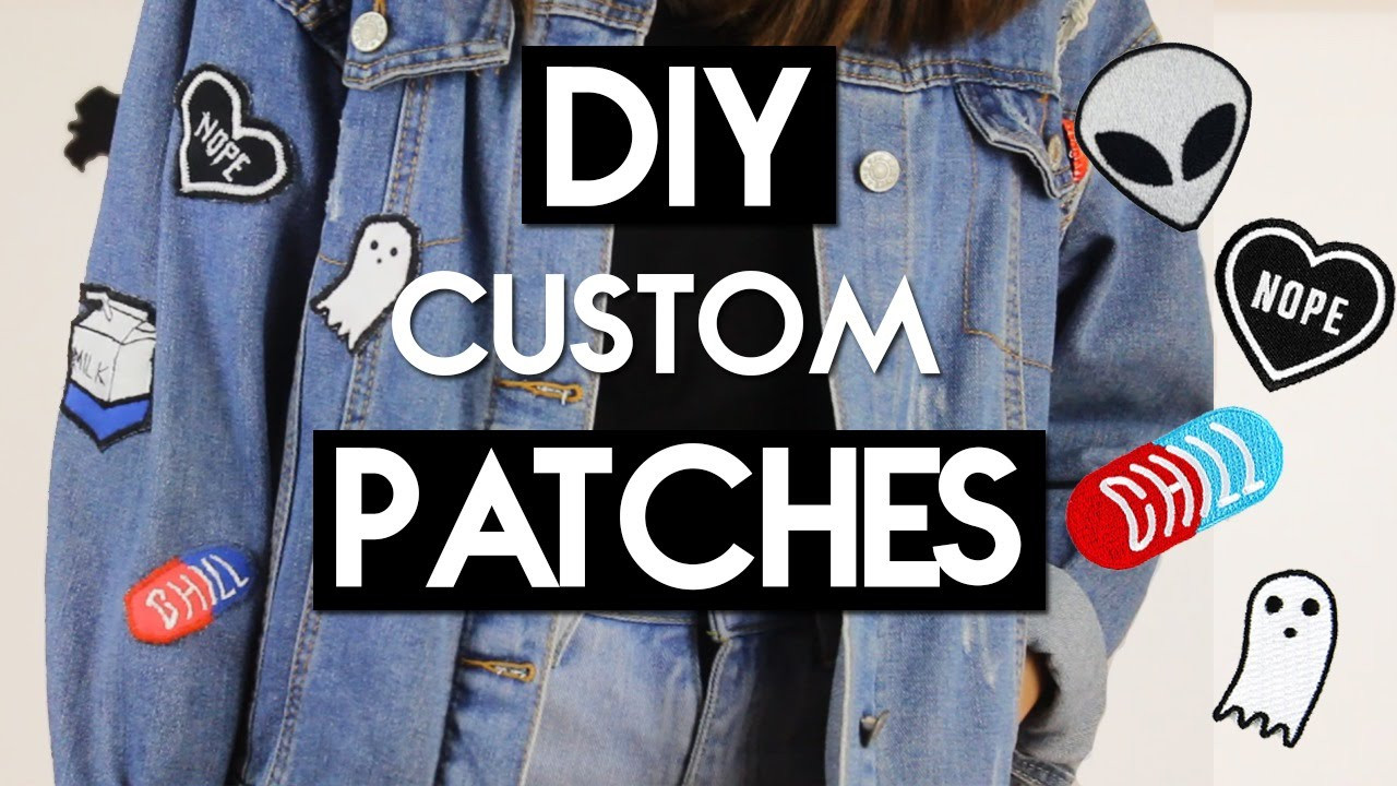 Best ideas about DIY Embroidered Patches . Save or Pin DIY Custom Embroidered Patches Now.