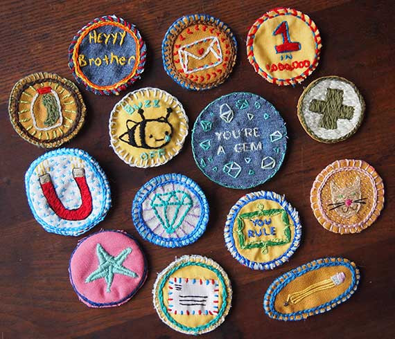 Best ideas about DIY Embroidered Patches . Save or Pin 15 DIY Patches and Patched Clothing Looks Now.