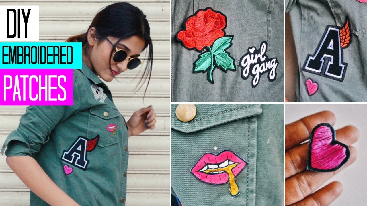 Best ideas about DIY Embroidered Patches . Save or Pin DIY CUSTOM EMBROIDERED PATCHES 3 techniques Now.