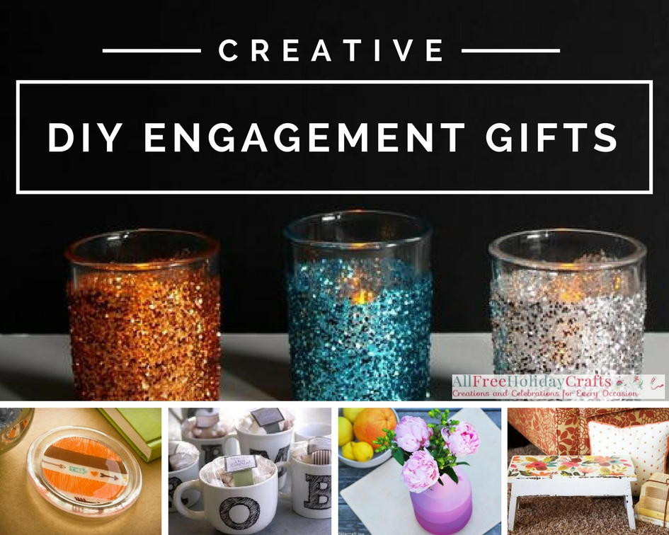 Best ideas about DIY Engagement Gifts . Save or Pin 36 Creative DIY Engagement Gifts Now.