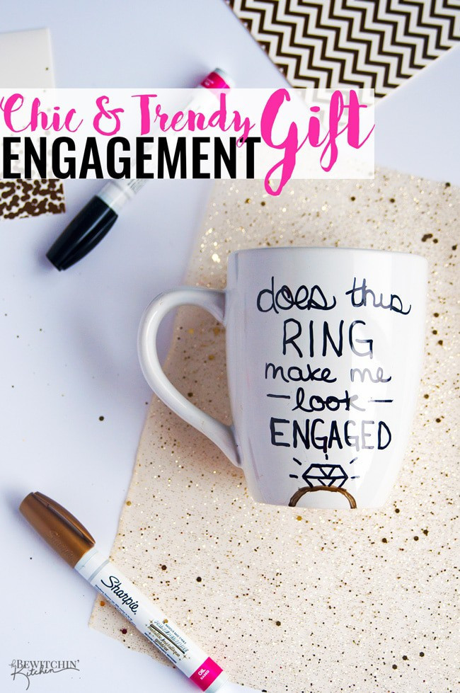 Best ideas about DIY Engagement Gifts . Save or Pin DIY Engagement Gift Idea Now.