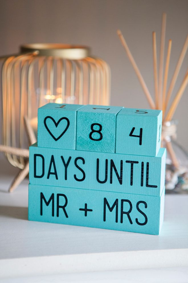 Best ideas about DIY Engagement Gifts . Save or Pin Best 25 Wedding countdown ideas on Pinterest Now.