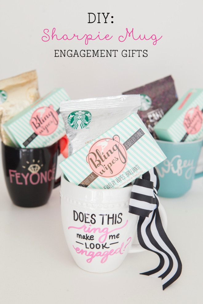 Best ideas about DIY Engagement Gifts . Save or Pin Learn how to make Sharpie Mugs that actually work Now.
