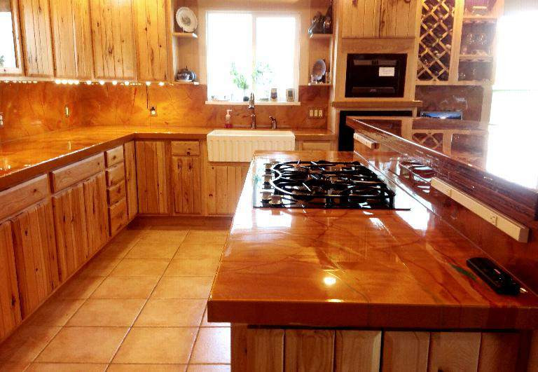 Best ideas about DIY Epoxy Countertops . Save or Pin DIY Countertops Backlighting Epoxy Renovations Now.