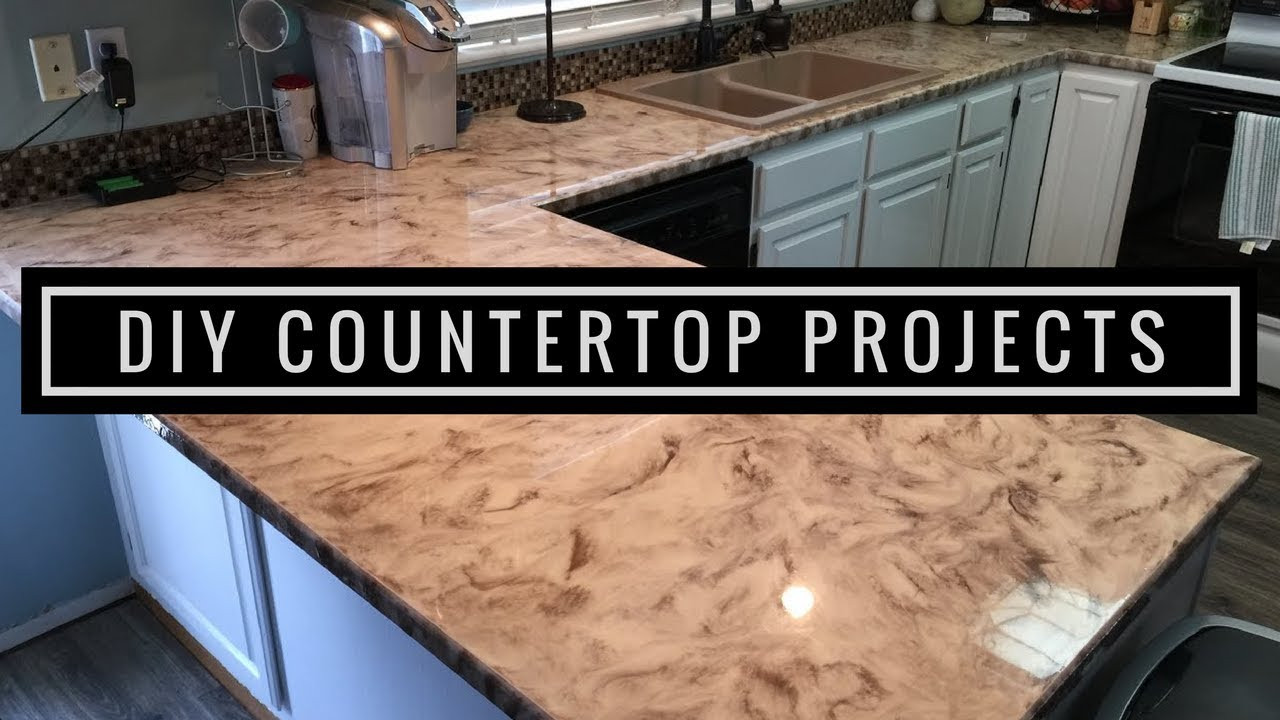 Best ideas about DIY Epoxy Countertops . Save or Pin Metallic Epoxy DIY Customer Install 1 Now.