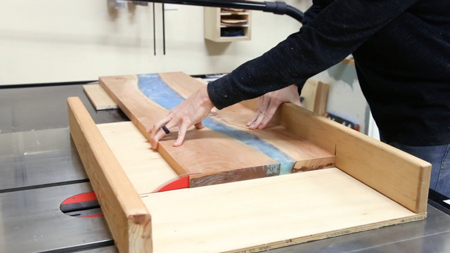 Best ideas about DIY Epoxy River Table . Save or Pin DIY Epoxy River Table with Waterfall Now.