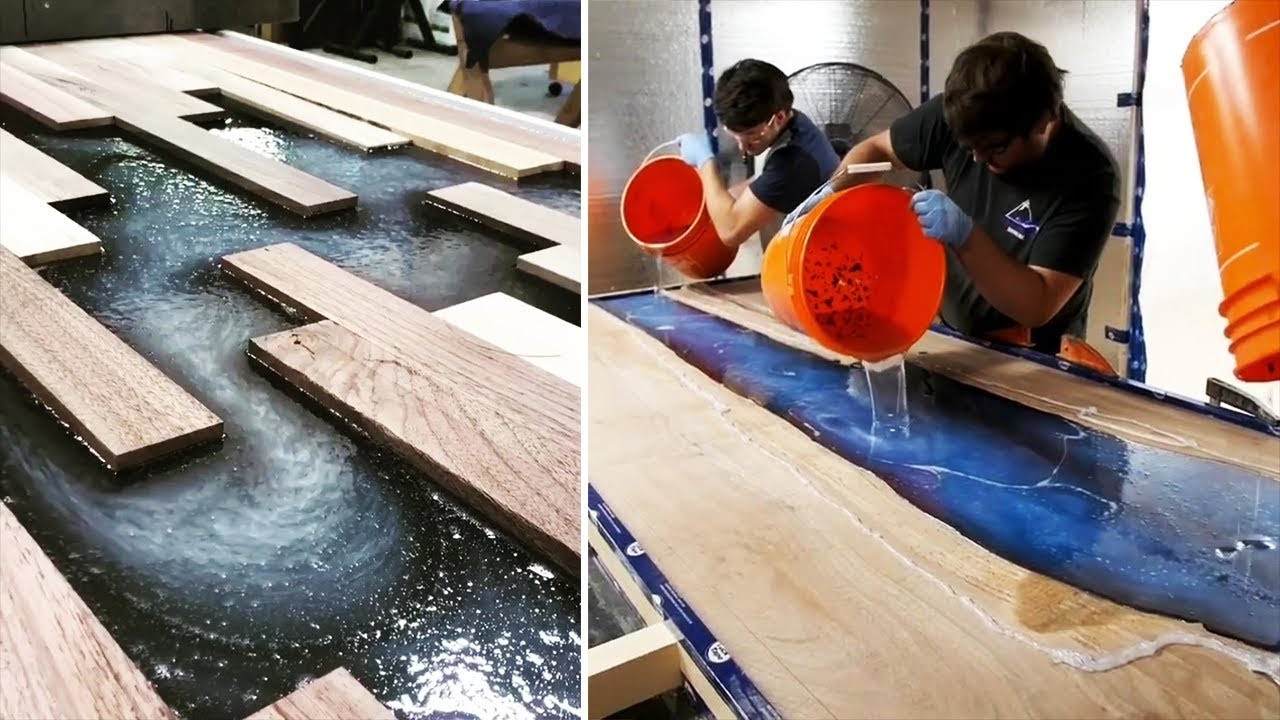 Best ideas about DIY Epoxy River Table . Save or Pin 10 MOST Amazing Epoxy Resin and Wood River Table Designs Now.