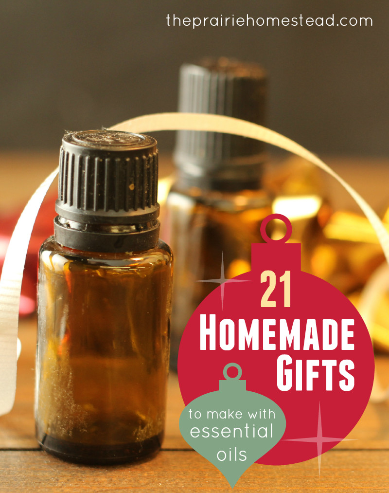 Best ideas about DIY Essential Oils . Save or Pin 21 Homemade Gifts You Can Make with Essential Oils Now.