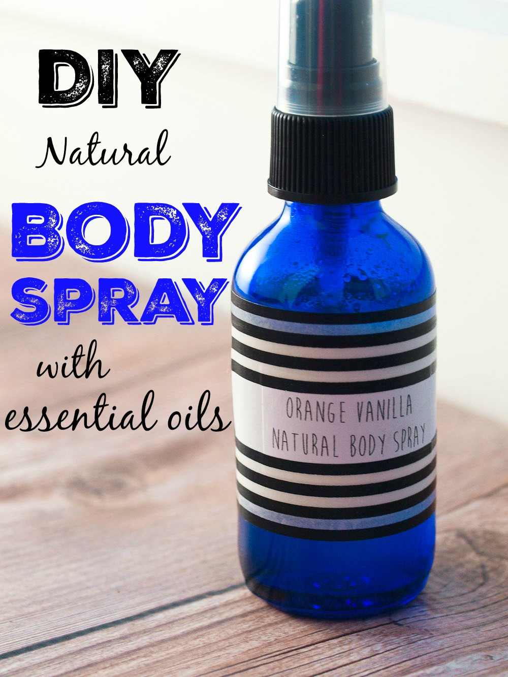 Best ideas about DIY Essential Oils . Save or Pin DIY Body Spray with Essential Oils Happy Healthy Mama Now.