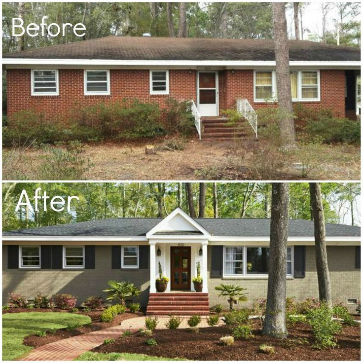 Best ideas about DIY Exterior House Painting . Save or Pin Exterior Painting Before and After – DIY Home & Garden Now.
