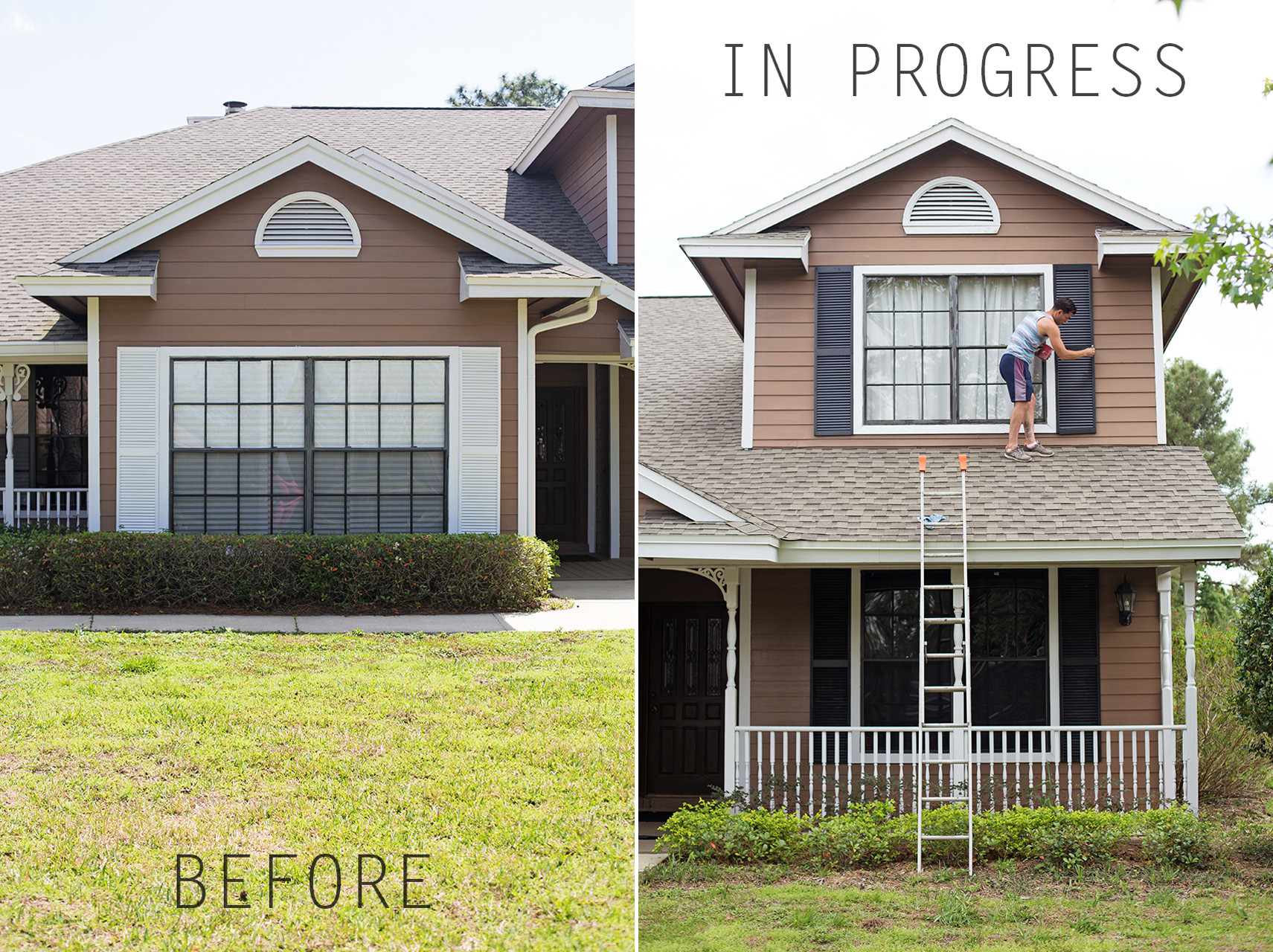 Best ideas about DIY Exterior House Painting . Save or Pin Exterior Paint It Black Now.