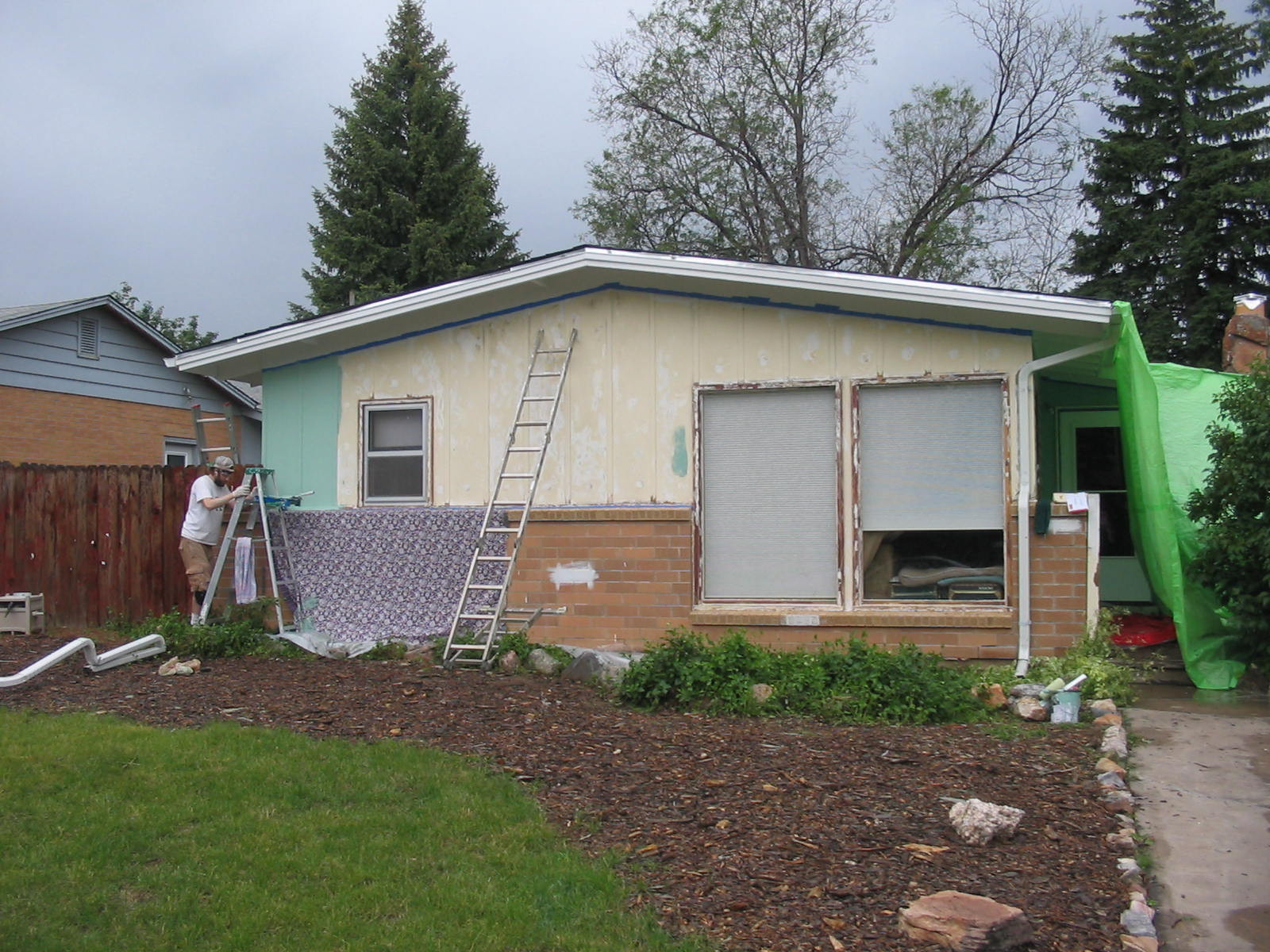 Best ideas about DIY Exterior House Painting . Save or Pin Diy Painting Exterior Brick DIY Design Ideas Now.