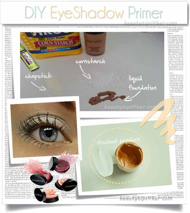 Best ideas about DIY Eyeshadow Primer . Save or Pin Create your Own Eyeshadow Primer and Save Yourself $20 Now.