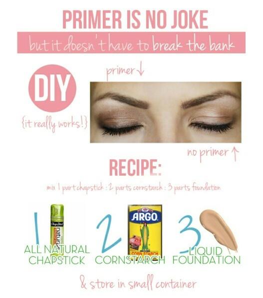 Best ideas about DIY Eyeshadow Primer . Save or Pin DIY Eyeshadow Primer maskcara Makeup Now.