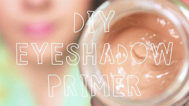 Best ideas about DIY Eyeshadow Primer . Save or Pin DIY Eyeshadow Primer Now.