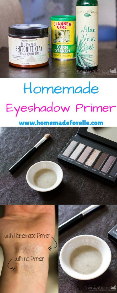 Best ideas about DIY Eyeshadow Primer . Save or Pin Homemade EyeShadow Primer Now.