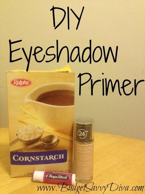 Best ideas about DIY Eyeshadow Primer . Save or Pin DIY Eyeshadow Primer diy Pinterest Now.