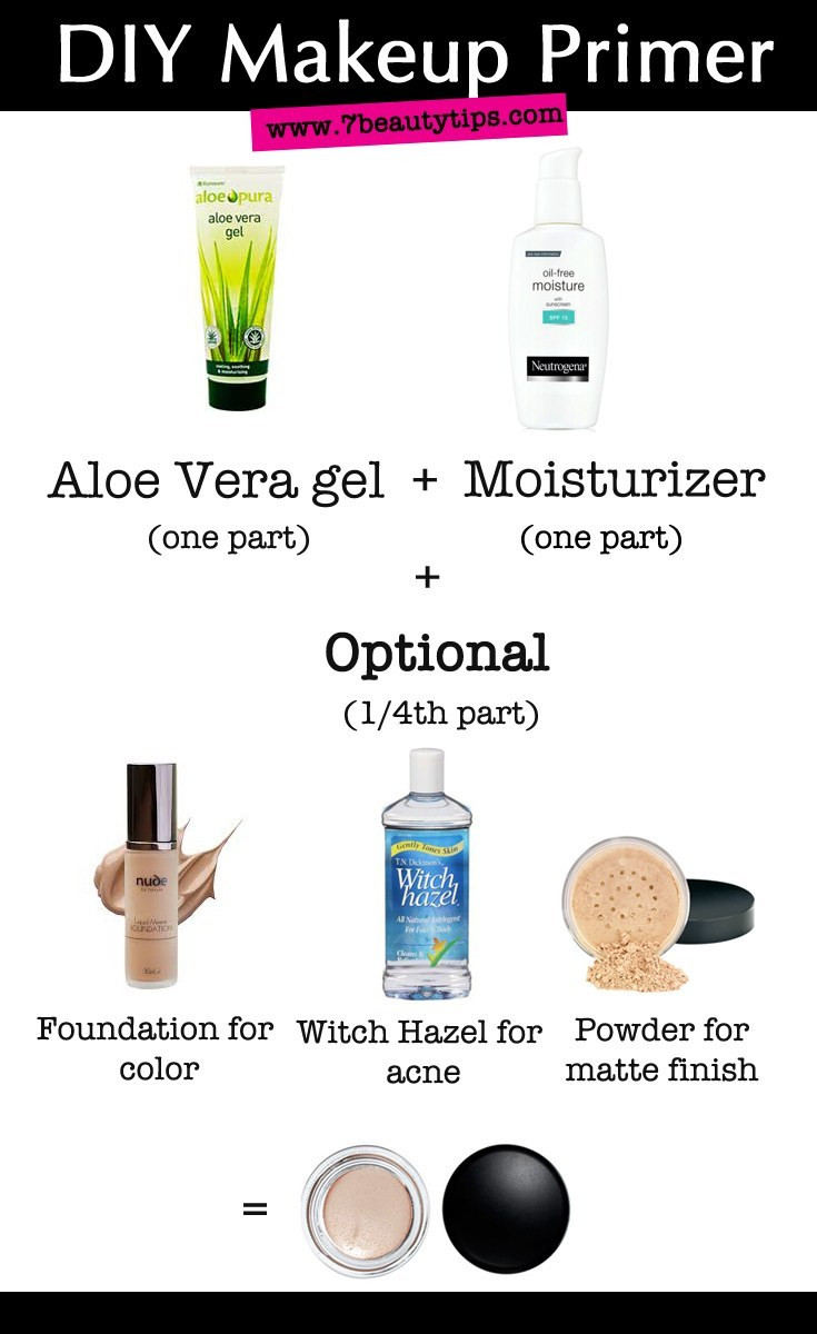 Best ideas about DIY Eyeshadow Primer . Save or Pin DIY Makeup Primers – 7BeautyTips Now.