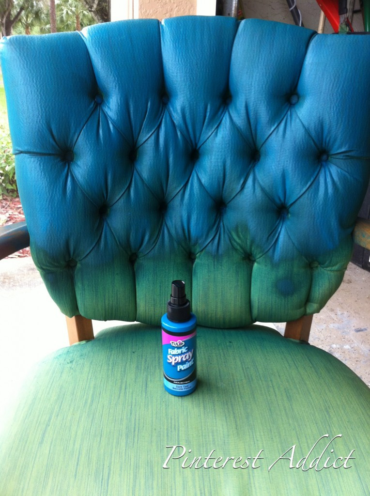 Best ideas about DIY Fabric Paint . Save or Pin Pinterest Addict Tulip Fabric Spray Paint Chair Now.
