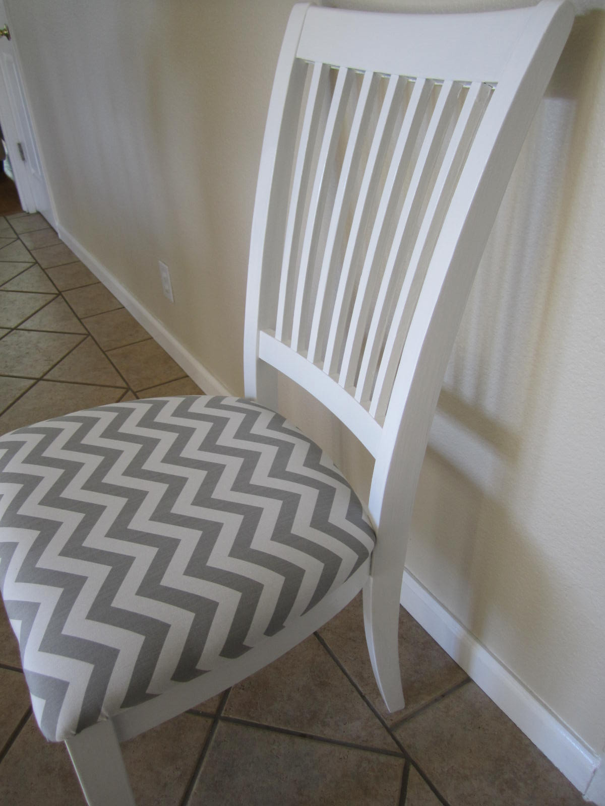Best ideas about DIY Fabric Paint . Save or Pin DIY Chair Facelift – New Fabric & Paint Now.
