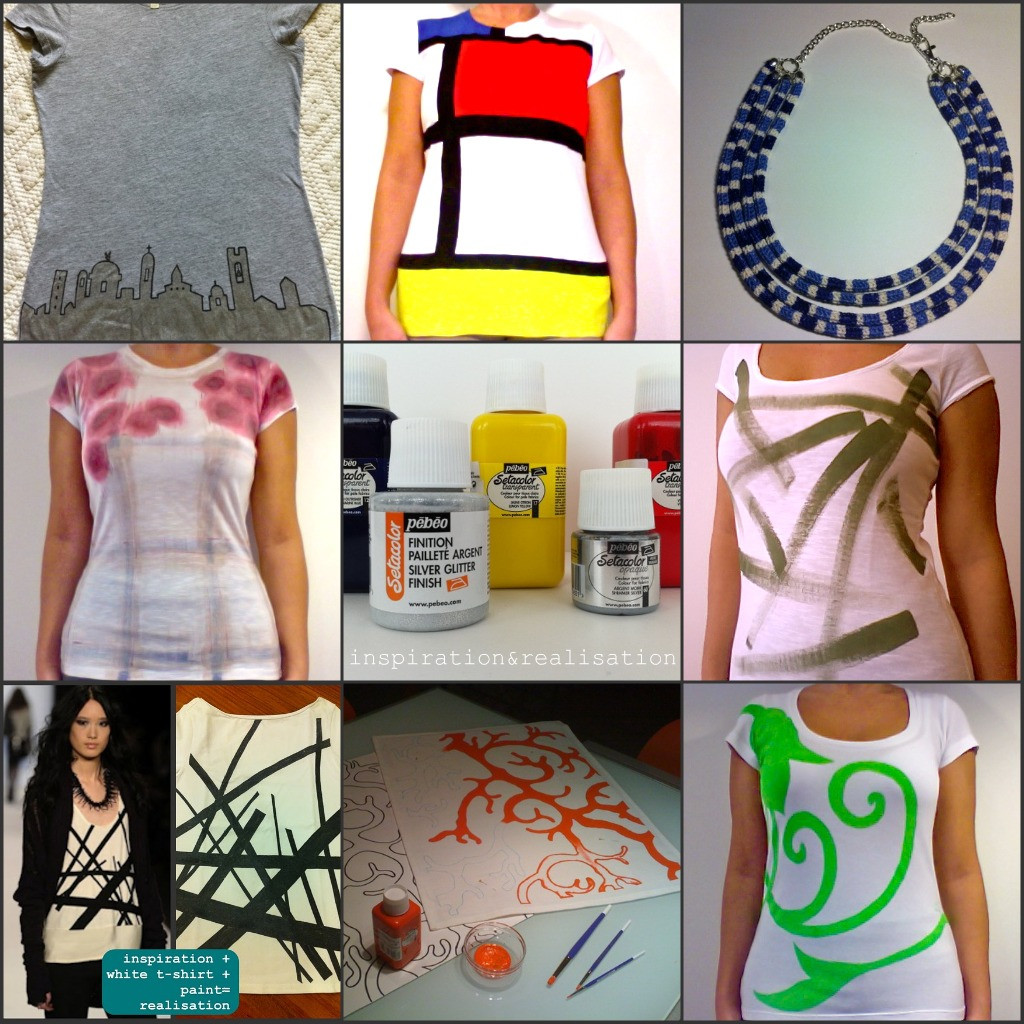 Best ideas about DIY Fabric Paint . Save or Pin inspiration and realisation DIY fashion blog fabric Now.