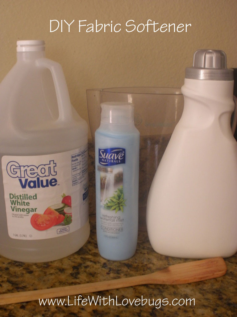 Best ideas about DIY Fabric Softener . Save or Pin DIY Fabric Softener Life With Lovebugs Now.
