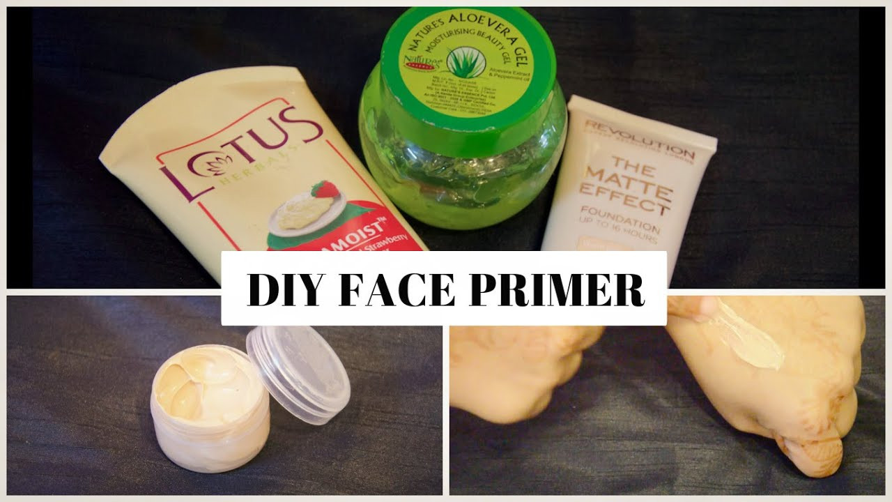 Best ideas about DIY Face Primer . Save or Pin DIY Face Primer Best Method Now.