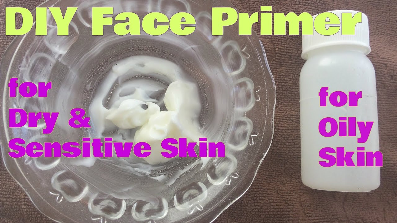 Best ideas about DIY Face Primer . Save or Pin DIY FACE PRIMER For OILY SKIN MAKEUP Primer for dry and Now.