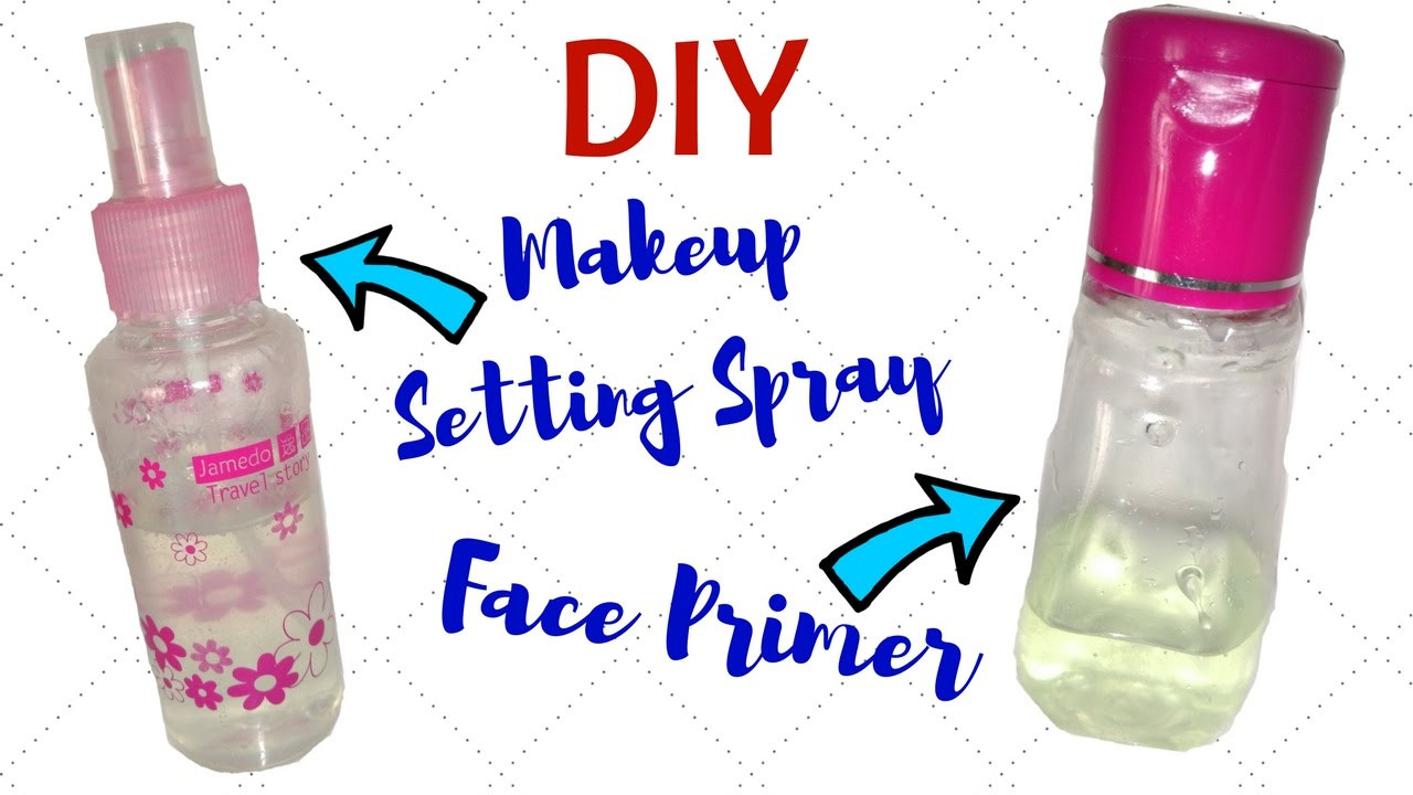 Best ideas about DIY Face Primer . Save or Pin Homemade Face Primer And Makeup Setting Spray For Gorgeous Now.