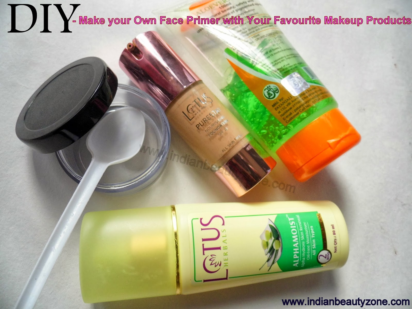 Best ideas about DIY Face Primer . Save or Pin Indian Beauty Zone DIY Make your Own Face Primer with Now.