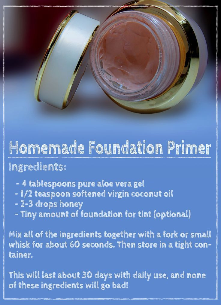 Best ideas about DIY Face Primer . Save or Pin 1000 ideas about Diy Makeup on Pinterest Now.
