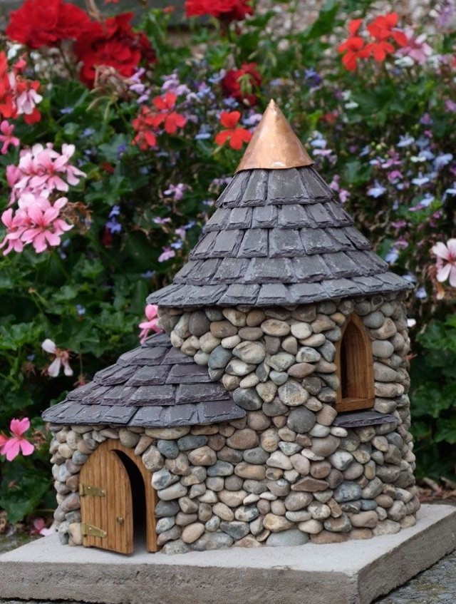 Best ideas about DIY Fairy House . Save or Pin Awesome Miniature Stone Houses Now.