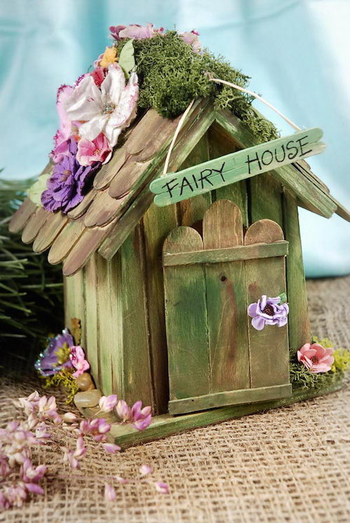 Best ideas about DIY Fairy House . Save or Pin Our Green House Blog DIY Fairy Homes Now.