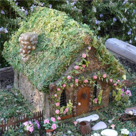 Best ideas about DIY Fairy House . Save or Pin Amazing 55 DIY Fairy House Ideas Crafts and DIY Ideas Now.