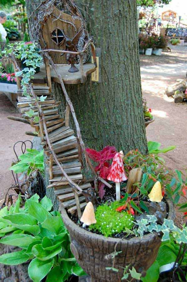 Best ideas about DIY Fairy House . Save or Pin 34 Easy and Cheap DIY Art Projects To Dress Up Your Garden Now.