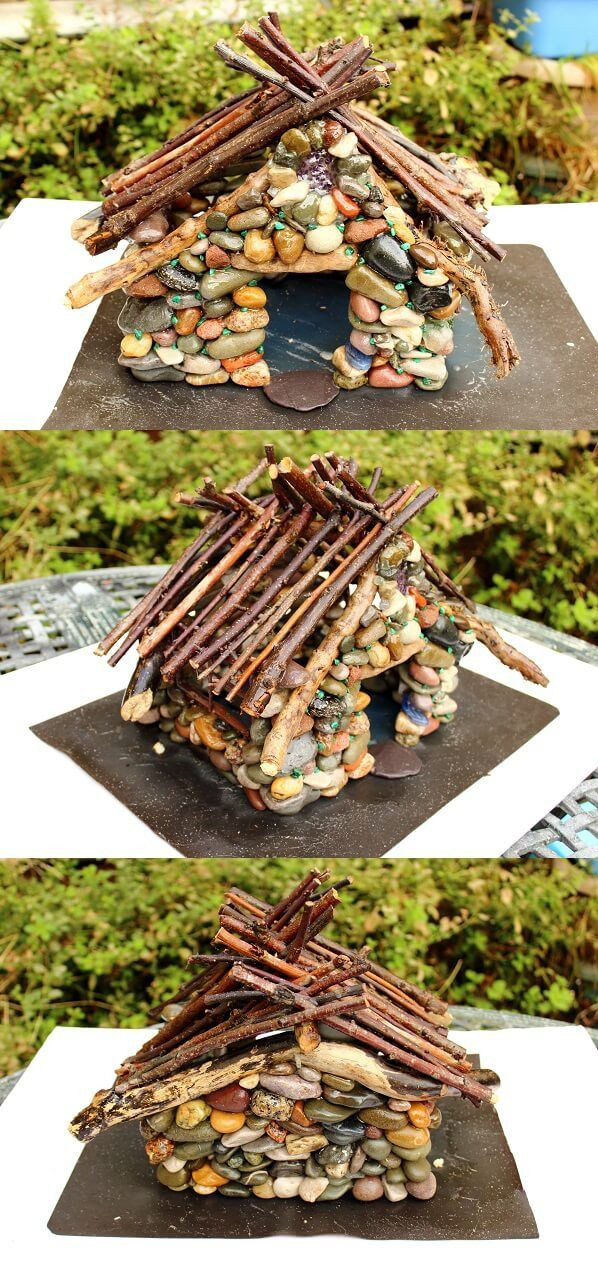 Best ideas about DIY Fairy House . Save or Pin DIY Pebble Fairy House Tutorial Fairie Homes Now.
