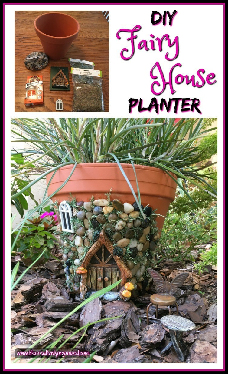 Best ideas about DIY Fairy House . Save or Pin Whimsical DIY Fairy House Planter LIFE CREATIVELY ORGANIZED Now.